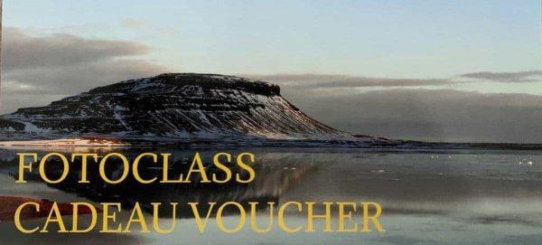 FotoClass Cadeau Voucher
